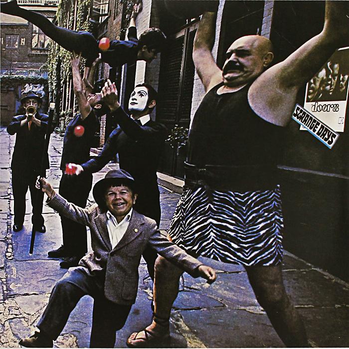The Doors The Doors. Strange Days (LP) виниловая пластинка doors strange days