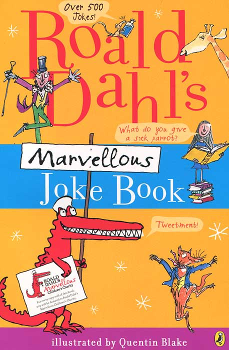 Roald Dahl's Marvellous Joke Book the crazy christmas joke book