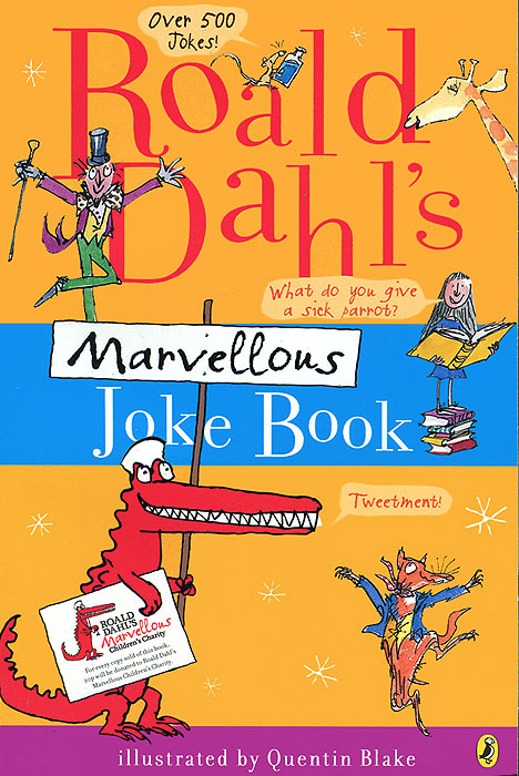 Roald Dahl's Marvellous Joke Book the funniest christmas joke book ever