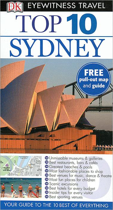 DK Eyewitness Top 10 Travel Guide: Sydney sydney pocket map