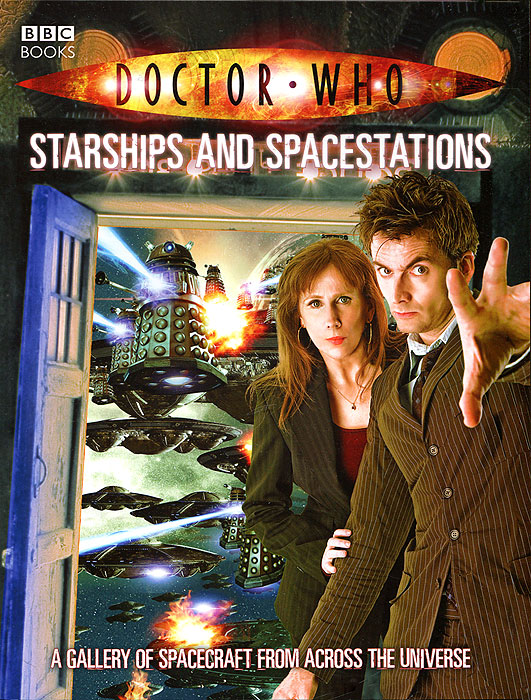 Doctor Who: Starships and Spacestations футболка рингер printio доктор кто doctor who