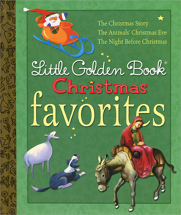 Little Golden Book: Christmas Favorites the crazy christmas joke book