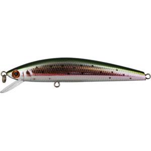 Воблер Tsuribito Minnow, длина 8 см, вес 6,4 г. 80F/055