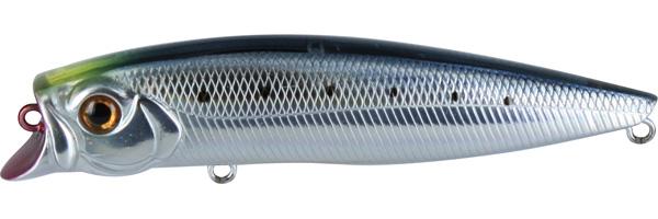 Воблер Tsuribito Jerk POP, длина 11 см, вес 14,4 г. 110F/060110F/060Воблер Tsuribito Jerk POP необычная, но очень результативная приманка. При небольших рывках отлично имитирует подраненную рыбку. При остановках приманка выходит на поверхность, а при рывках уходит на полметра. Эти качества позволяют эффективно ловить рыбу в мелководных заливах над зарослями травы. Характеристики:Материал: металл, пластик. Длина: 11 см. Вес: 14,4 г. Цвет тела:060 Рабочая глубина: 0,5 - 0,8м. Плавучесть - плавающий. Размер упаковки: 16,3 см х 4 см х 2,8 см. Производитель: Япония. Артикул:110F/060.Какая приманка для спиннинга лучше. Статья OZON Гид