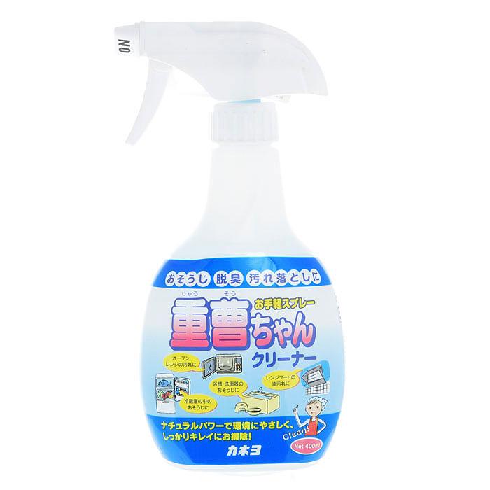 Спрей чистящий Kaneyo с чайной содой, 400 мл305087Экологически чистое натуральное средство Kaneyo не причиняет вреда окружающей среде. Спрей предназначен для уборки на кухне, в ванной или туалетной комнатах. Отлично справляется с загрязнениями на пластиковых, эмалированных, керамических и металлических поверхностях. Дезинфицирует и уничтожает стойкие неприятные запахи!Помогает также устранить неприятный запах в холодильнике. Характеристики:Объем: 400 мл. Артикул: 305087. Товар сертифицирован.