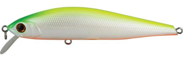Воблер Tsuribito Hard Minnow, длина 9,5 см, вес 11,2 г. 95F/03895F/038Воблер Tsuribito Hard Minnow изготовлен с применением самых современных технологий. Лопасть изготовлена из тонкого, но очень прочного стеклопластика. Это делает воблер более стойким к ударам о камни, а также способствует более активной игре, даже при очень медленной проводке. Система дальнего заброса позволяет охватить более широкий участок водоема. Все эти качества делают данный воблер очень эффективным для ловли крупного хищника. Характеристики:Материал: металл, пластик. Длина: 9,5 см. Вес: 11,2 г. Цвет тела:038 Рабочая глубина: 1-1,2 м. Плавучесть - плавающий Размер упаковки: 14,3 см х 4 см х 2,5 см. Производитель: Япония. Артикул:95F/038.Какая приманка для спиннинга лучше. Статья OZON Гид