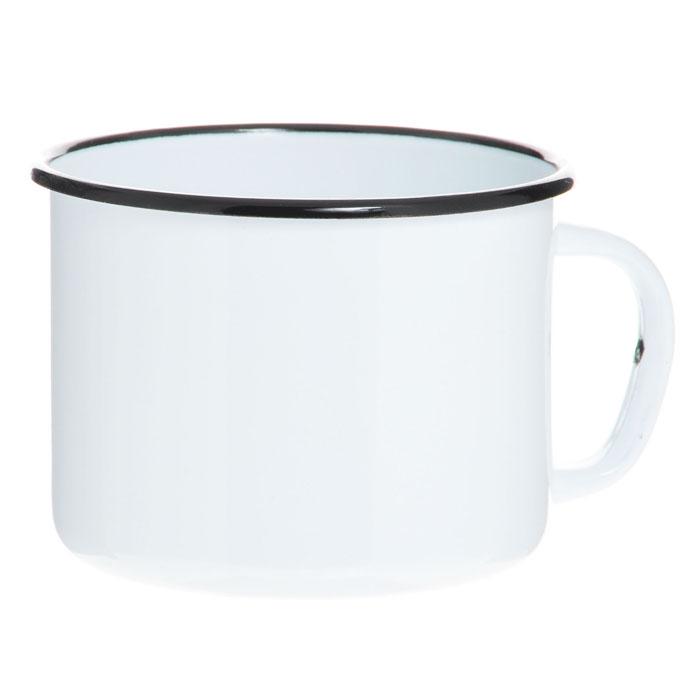 Кружка эмалированная, 1 лС-0107Кружка изготовлена из высококачественной стали и покрыта эмалью. Такая кружка не требует особого ухода и ее легко мыть.Благодаря классическому дизайну и удобству в использовании кружка займет достойное место на вашей кухне. Характеристики: Материал:эмалированная сталь. Диаметр кружки по верхнему краю:13 см. Высота кружки:9,5 см. Объем:1 л. Артикул:С-0107.
