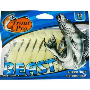 Риппер Trout Pro Beast, длина 7 см, 10 шт. 35184 вибротвистер trout pro catepillar длина 7 см 10 шт 35514