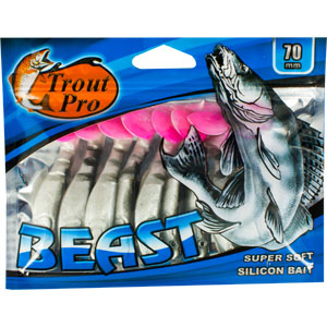 Риппер Trout Pro Beast, длина 7 см, 10 шт. 35195
