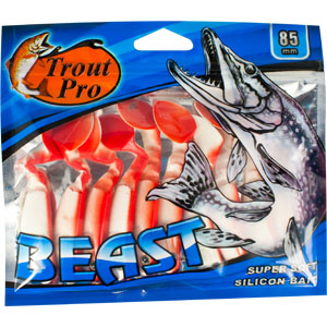 Риппер Trout Pro Beast, длина 8,5 см, 10 шт. 35214