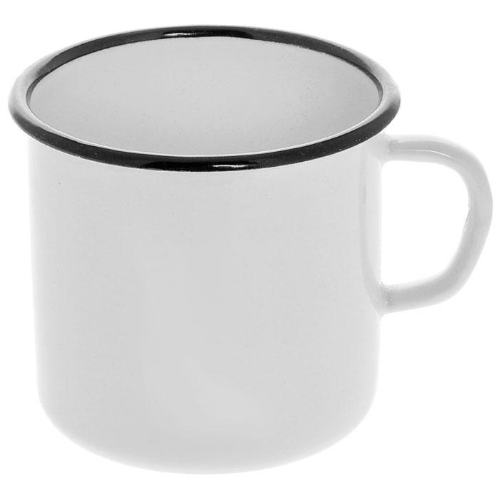 Кружка эмалированная, 0,4 лС-0103Кружка изготовлена из высококачественной стали и покрыта эмалью. Такая кружка не требует особого ухода и ее легко мыть.Благодаря классическому дизайну и удобству в использовании кружка займет достойное место на вашей кухне. Характеристики: Материал:эмалированная сталь. Диаметр кружки по верхнему краю:9 см. Высота кружки:8 см. Объем:0,4 л. Артикул:С-0103.