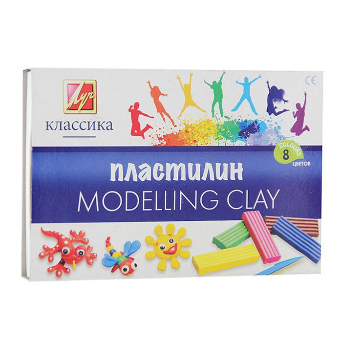 Пластилин Классика, со стеком, 8 цветов12С 867-08Цветной пластилин Классика, предназначенный для лепки и моделирования, поможет ребенку развить творческие способности, воображение и мелкую моторику рук. Пластилин обладает отличными пластичными свойствами, быстро размягчается, хорошо держит форму и не липнет к рукам. Легко отмывается с рук и отстирывается от одежды. Пластилин нетоксичен, безопасен для здоровья. В наборе пластилин восьми насыщенных цветов: белого, желтого, красного, оранжевого, черного, зеленого, синего и фиолетового и стек. Характеристики:Размер брусочка пластилина: 7,5 см х 2 см х 1 см. Длина стека: 13 см. Размер упаковки: 16,5 см х 11,5 см х 2 см.