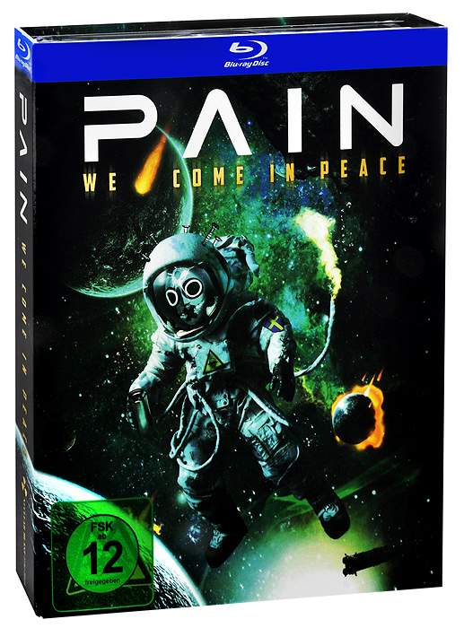 Pain: We Come in Peace (Blu-ray + 2 CD) burt bacharach a life in song blu ray