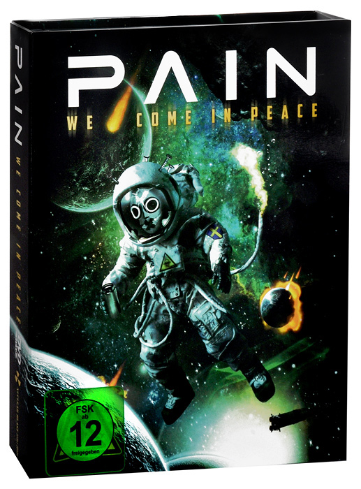 Pain: We Come in Peace (DVD + 2 CD) pantera pantera reinventing hell the best of pantera cd dvd