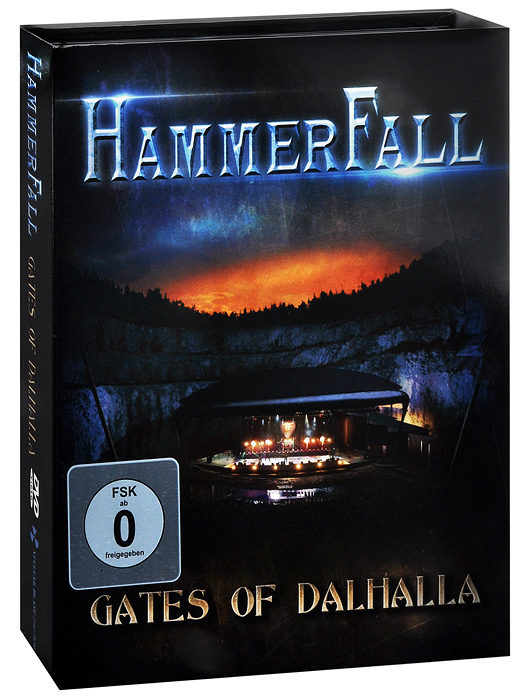 HammerFall: Gates Of Dalhalla (DVD + 2 CD) safety pvc special forces helmet random color