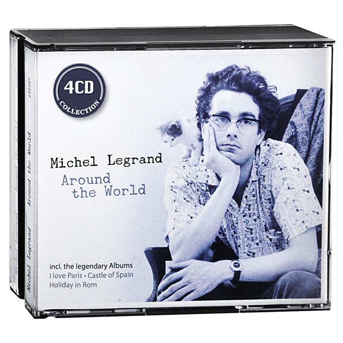 Мишель Легран Michel Legrand. Around The World (4 CD) sticker dolly dressing around the world