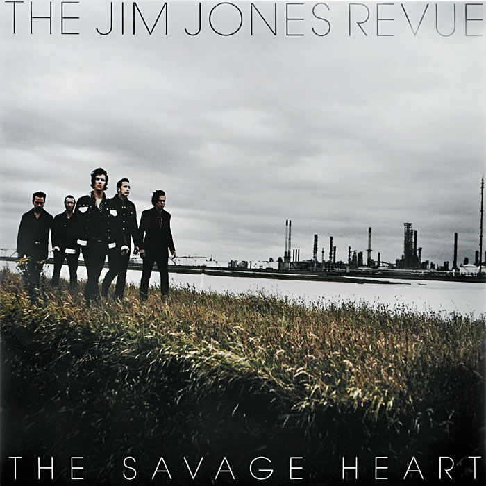 The Jim Jones Revue The Jim Jones Revue. The Savage Heart (LP) fender squier jim root telecaster flat white