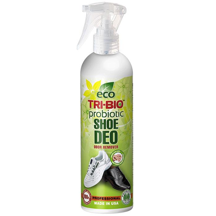Биологический дезодорант Tri-Bio для обуви, 0,21 л0172Дезодорант Tri-Bio - пробиотическое средство, моментально и полностью уничтожает неприятные запахи в обуви и ткани. Уничтожает вредные бактерии. В отличие от стандартных химических продуктов, ликвидирует неприятные запахи, не маскируя их, а устраняя их причину. По результату действия превосходит большинство современных химических дезодорирующих средств. Для здоровья: Без фосфатов, растворителей, хлора отбеливающих веществ, абразивных веществ, красителей, токсичных веществ, нейтральный pH. Безопасная альтернатива химическим аналогам. Присвоен сертификат ECO GREEN. Для окружающей среды: Низкий уровень ЛОС, биоразлагаем, минимальное влияние на водные организмы. Особо рекомендуется использовать в домах с автономной канализацией. Характеристики:Объем: 0,21 л. Артикул: 0172.