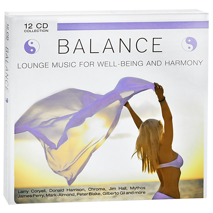 Balance. Lounge Music For Well-Being And Harmony (12 CD) tim murphey music and song
