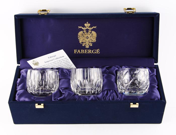 Подсвечники Капли воды. Хрусталь, гранение, House of Faberge. Конец XX века