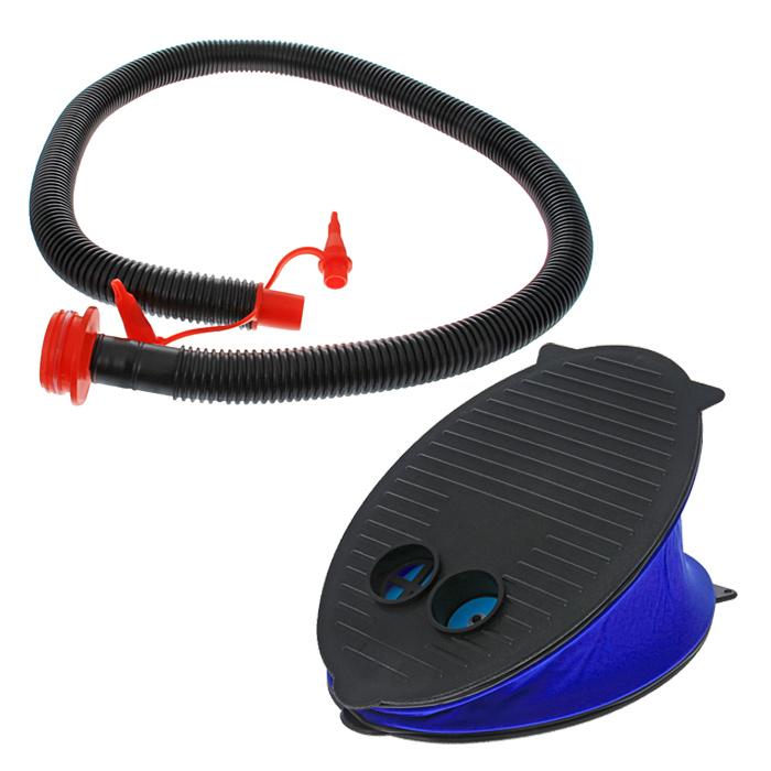 Насос ножной Intex, с насадками. 6961169611Ножной насос Intex предназначен для накачивания и сдувания надувных кроватей и других изделий. Насос имеет небольшие размеры и вес, что позволяет взять его с собой в поездку.Особенности насоса Intex: Надувает и сдувает - только поменяйте направление воздуха Высокий объем воздушного потока Имеет 3 насадки. Гарантия производителя: 60 дней.