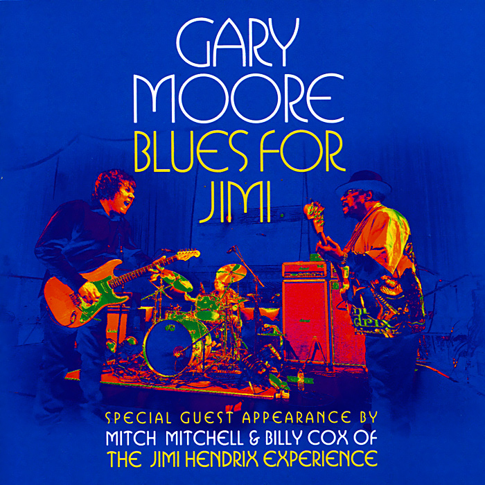 Гэри Мур Gary Moore. Blues For Jimi gary moore gary moore after hours