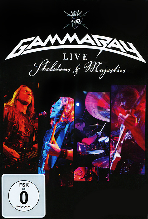 Gamma Ray: Skeletons & Majesties, Live (2 DVD) фонарик send force germany 78