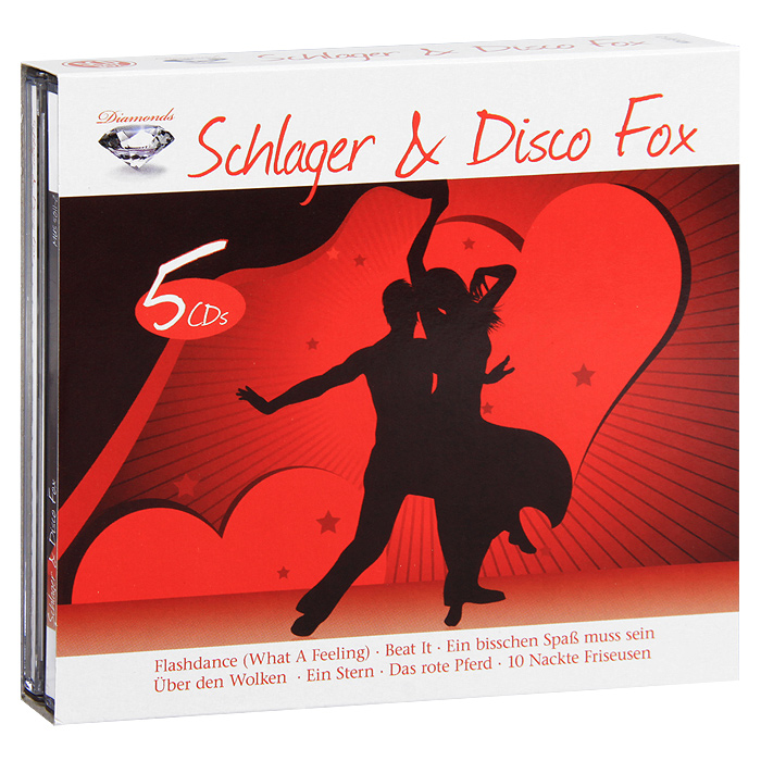 Diamonds. Schlager & Disco Fox (5 CD) fernando express schlager