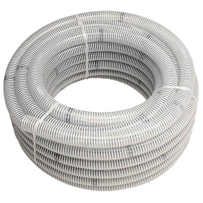 """Напорно-всасывающий шланг """"Ali-flex Combo"""" изготовлен из ПВХ пищевого качества. Шланг прозрачный в жесткой спиральной оплетке, отличается высокой прочностью. Рабочая температура от -10°C до +60°C. Можно применять для питьевой воды. Характеристики:Материал:  ПВХ. Длина шланга:  25 м. Диаметр шланга (по внутренней части):  25 мм (1""""). Диаметр шланга (по внешней части):  30 мм. Размер упаковки: 39 см х 31 см. Артикул:  3730141."""