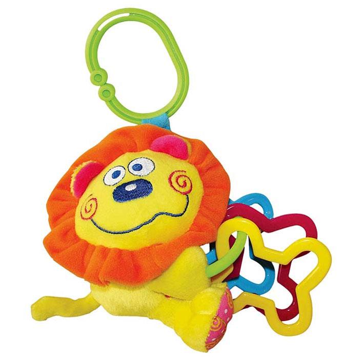 Мягкая игрушка-подвеска Львенок подвесные игрушки мир детства мини подвеска слоненок