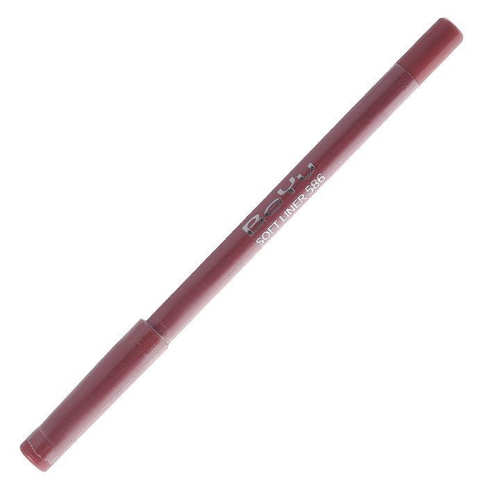 BeYu Карандаш для губ Soft Liner, универсальный, тон №586, 1,2 г34586Мягкая текстура карандаша Soft Liner легко и приятно наносится на нежную кожу губ. Благодаря стойкой формуле карандаш фиксируется уже через минуту и становится водостойким. При этом при необходимости он легко растушевывается. Широкая цветовая палитра дает возможность идеально подобрать карандаш к помаде, а удобная пластиковая упаковка защищает грифель от сколов. Товар сертифицирован.