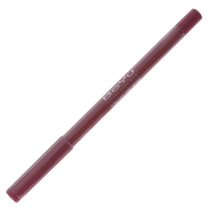 BeYu Карандаш для губ Soft Liner, универсальный, тон №, 1,2 г34Мягкая текстура карандаша Soft Liner легко и приятно наносится на нежную кожу губ. Благодаря стойкой формуле карандаш фиксируется уже через минуту и становится водостойким. При этом при необходимости он легко растушевывается. Широкая цветовая палитра дает возможность идеально подобрать карандаш к помаде, а удобная пластиковая упаковка защищает грифель от сколов. Товар сертифицирован.