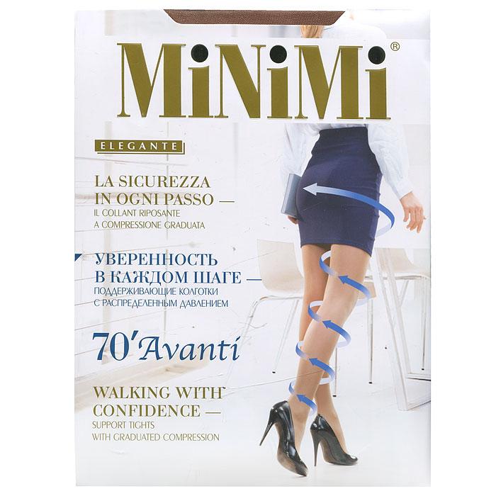 Колготки Minimi Avanti 70, цвет: темно-коричневый (daino). Размер 3 цены онлайн