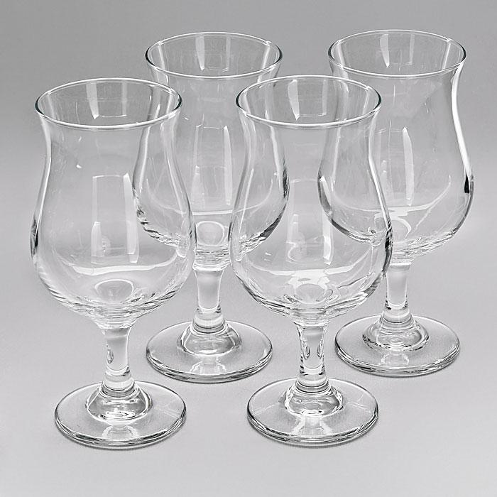 """Набор """"Poco Grande"""" состоит из четырех коктейльных бокалов, изготовленных из прочного стекла. Они прекрасно будут смотреться за праздничным столом и на кухне в повседневной жизни.  Набор бокалов """"Poco Grande"""" идеально подойдет для сервировки стола и станет отличным подарком к любому празднику.   Характеристики:  Материал: стекло. Диаметр бокала по верхнему краю:  7 см. Высота бокала:  17 см. Диаметр основания бокала:  6,5 см. Объем бокала:  384 мл. Комплектация:  4 шт. Размер упаковки:  17,5 см х 17,5 см х 18,5 см. Артикул:  Ам 89711."""