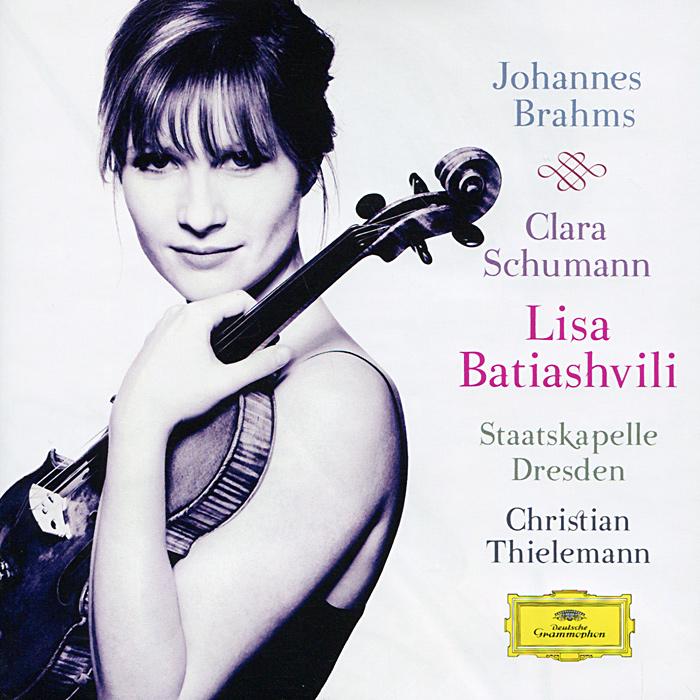 Лиза Батиашвили,Элис Сара Отт,Staatskapelle Dresden,Кристиан Тильманн Lisa Batiashvili. Johannes Brahms / Clara Schumann