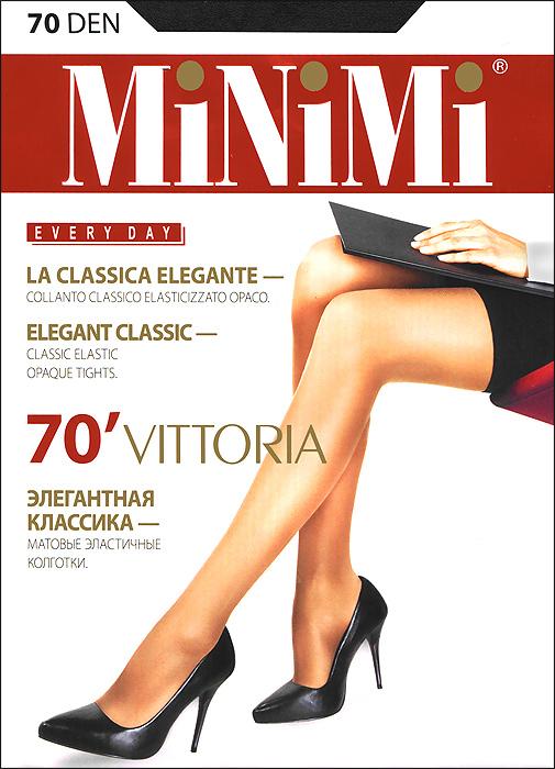 Колготки Minimi Vittoria 70, цвет: черный (nero). Размер 3 (M) цены онлайн