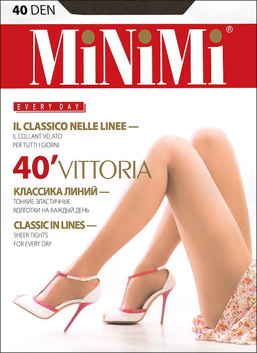 Колготки Minimi Vittoria 40, цвет: серая дымка (fumo). Размер 5 (XL)