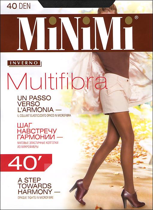 Колготки Minimi Multifibra 40, цвет: черный (nero). Размер 3 (M)