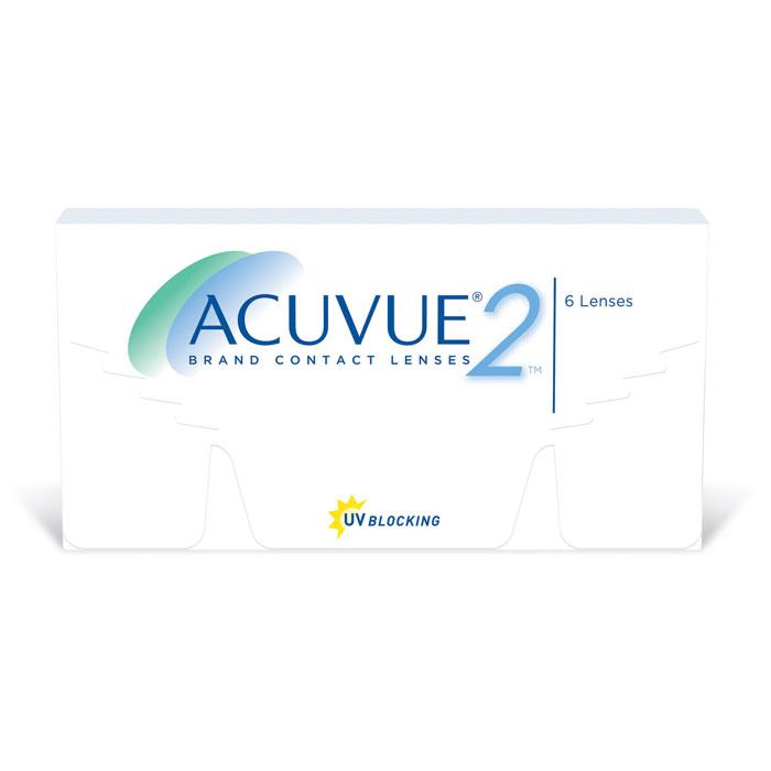 Johnson & Johnson контактные линзы Acuvue 2 (6шт / 8.3 / 14.0 / -5.50)