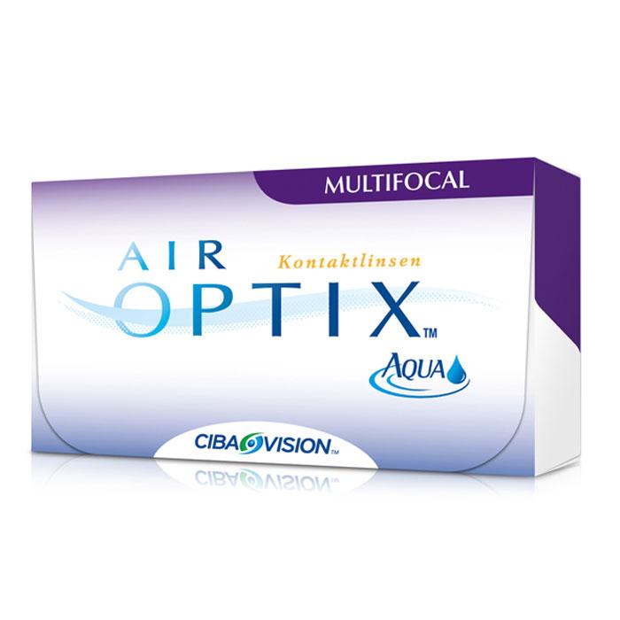 Alcon-CIBA Vision контактные линзы Air Optix Aqua Multifocal (3шт / 8.6 / 14.2 / +1.75 / Med)31050Контактные линзы Air Optix Aqua Multifocal предназначены для коррекции возрастной дальнозоркости. Если для работы вблизи или просто для чтения вам необходимо использовать очки, то эти линзы помогут вам избавиться от них. В линзах Air Optix Aqua Multifocal вы будете одинаково четко видеть как предметы, расположенные вблизи, так и удаленные предметы. Линзы изготовлены из силикон-гидрогелевого материала лотрафилкон В, который пропускает в 5 раз больше кислорода по сравнению с обычными гидрогелевыми линзами. Они настолько комфортны и безопасны в ношении, что вы можете не снимать их до 6 суток.Но даже если вы не собираетесь окончательно сменить очки на линзы, мы рекомендуем вам иметь хотя бы одну пару таких линз для экстремальных ситуаций, например для занятий спортом. Контактные линзы AirOptix Aqua Multifocal имеют три степени аддидации: Low (низкую) до +1,00; Medium (среднюю) от +1,25 до +2,00 и High (высокую) свыше +2,00. Характеристики:Материал: лотрафилкон Б. Кривизна: 8.6. Оптическая сила: + 1.75. Содержание воды: 33%. Диаметр: 14,2 мм. Cтепень аддидации: Medium (средняя). Количество линз: 3 шт. Размер упаковки: 9 см х 5 см х 1 см.Контактные линзы или очки: советы офтальмологов. Статья OZON Гид