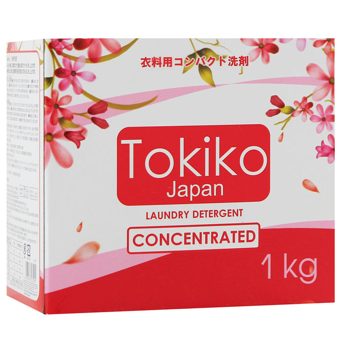 Стиральный порошок Tokiko, концентрированный, с цветочным ароматом, 1 кг303295Концентрированный стиральный порошок Tokiko благодаря силе ферментов эффективно отстирывает загрязнения, обладает дезодорирующими т антисептическими свойствами, устраняя неприятные запахи и наполняя ваши вещи необыкновенной свежестью. Благодаря бактерицидным свойствам убивает бактерии, делая белье идеально чистым. Бережно отбеливает и смягчает ткань, обеспечивая мягкость и гладкость вещей. Подходит для машинной и ручной стирки. Характеристики:Вес: 1 кг. Производитель:Япония. Товар сертифицирован.