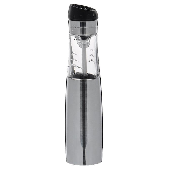 Мельница для перца и соли Buzz Revolution, цвет: серебристыйH920820Электронная мельница для соли и перца Buzz Revolution позволяет солить и перчить одновременно - это превосходное партнерство. Мельница выполнена из пластика и металла. В верхней части мельницы имеется кнопка включения-выключения. Мельница легка в использовании. Оригинальная мельница модного дизайна будет отлично смотреться на вашей кухне. Характеристики:Материал:металл, пластик. Размер мельницы: 23 см х 5,5 см х 5 см. Размер упаковки: 8,5 см х 8,5 см х 23 см. Размер упаковки: 8,5 см х 8,5 см х 23 см. Изготовитель: Великобритания. Артикул:H920820. Необходимо докупить 4 батареи напряжением 1,5V типа ААА (не входят в комплект).
