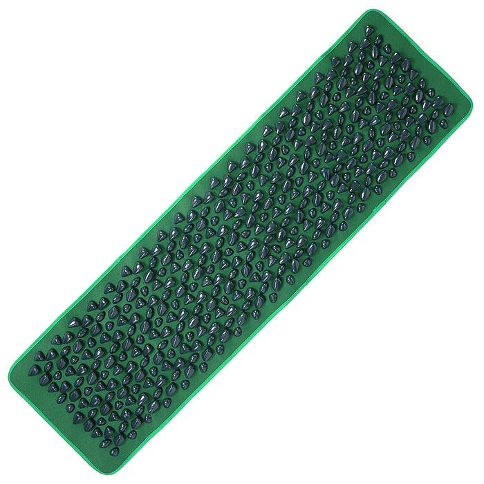 Дорожка Bradex Морской берег, массажная, цвет: зеленыйKZ 0011Массажная дорожка Bradex Морской берег с камнями является отличным средством профилактики плоскостопия, рефлексотерапии и расслабления. Достаточно в течение недолгого времени походить или полежать на массажной дорожке, и вы почувствуете приятное расслабление в мышцах. Используя Морской берег, выполучите превосходный массаж ступней или спины, а оригинальный дизайн дорожки, ассоциирующийся с прекрасными морскими пейзажами, подарит ощущение внутренней гармонии и безмятежности. Характеристики:Материал: ПВХ, нейлон. Размер дорожки: 140 см х 40 см. Количество камней: 400 шт. Размер упаковки: 41 см х 27 см х 9 см. Артикул: KZ0011. Производитель: Китай.