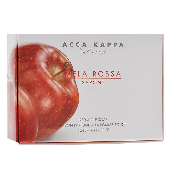 Acca Kappa Мыло туалетное Красное Яблоко, 150 г853373Растительное мыло Красное яблоко деликатно очищает кожу. Идеально подходит для всех типов кожи.Растительные компоненты получены из кокосового и пальмового масла, прекрасно очищают и увлажняют кожу. Характеристики:Вес: 150 г. Производитель: Италия. Артикул: 853373. Товар сертифицирован.