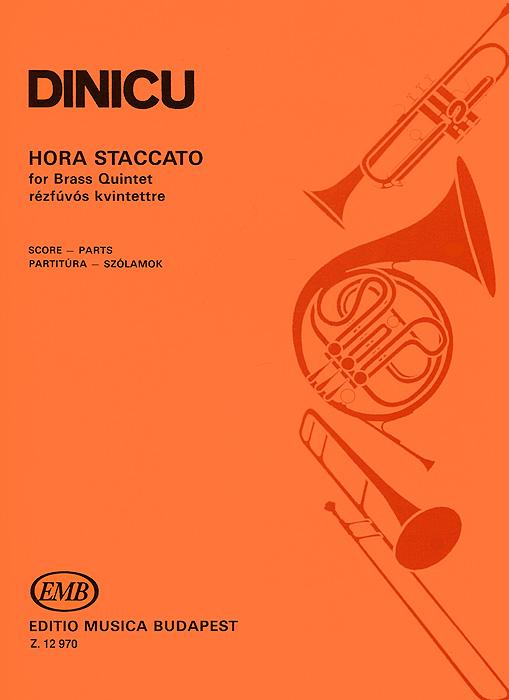 Dinicu Dinicu: Hora Staccato for Brass Quintet Rezfuvos Kvintettre staccato st029ebptj51