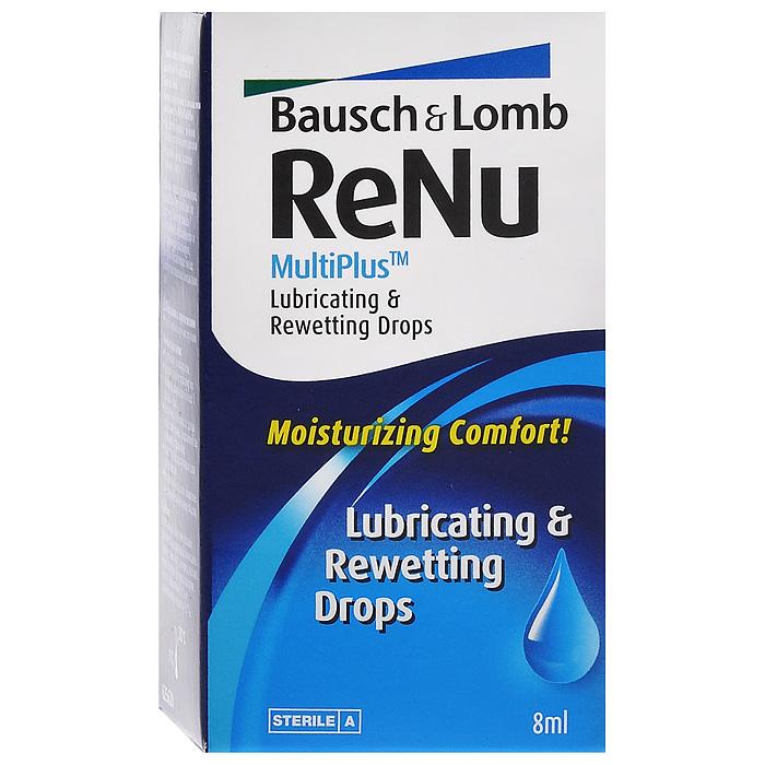 ReNu Капли для глаз MultiPlus, 8 мл07194Капли ReNu MultiPlus разработаны компанией Bausсh&Lomb, для создания дополнительного комфорта и удобства при ношении. Это увлажняюще-смазывающие капли, которые еще и дезинфицируют ваши линзы.Капли можно использовать как новичкам (для адаптации), так и уже людям использующим контактные линзы долгое время. При использовании линз в помещениях с пониженной влажностью или пыльном помещении - это просто незаменимое средство. Так же не обойтись без него и пациентам со сниженным слезовыделением. Характеристики: Объем: 8 мл. Производитель: США. Товар сертифицирован.Контактные линзы или очки: советы офтальмологов. Статья OZON Гид