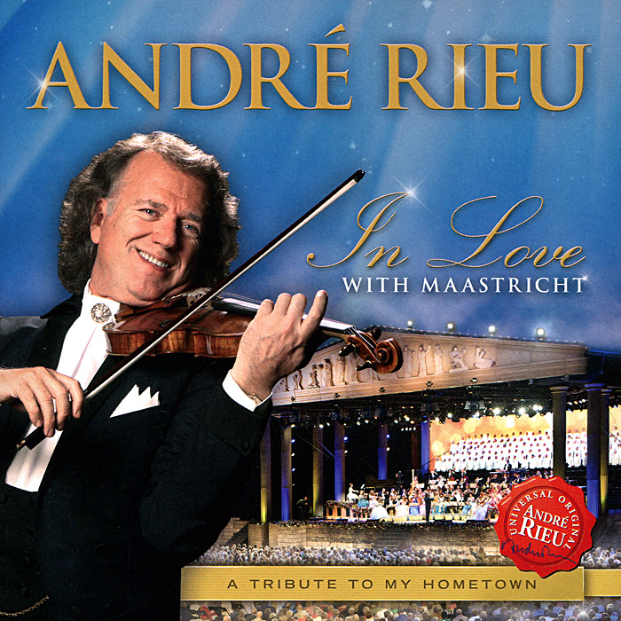 Андрэ Рье Andre Rieu. In Love With Maastricht motti regev pop rock music aesthetic cosmopolitanism in late modernity