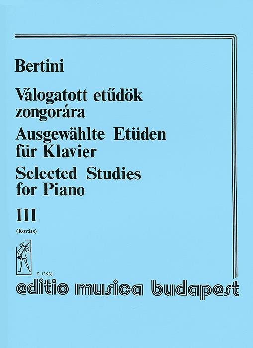 Henri Bertini Bertini: Valogatott etudok zongorara III dumas a henri iii et sa cour