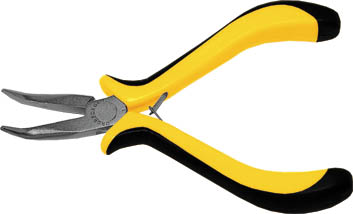 Утконосы мини FIT, с никелированным антикоррозионным покрытием, цвет: черный, желтый, 125 мм. 5163451634Утконосы FIT изготовлены из инструментальной стали. Они предназначены для захвата, зажима и удержания мелких деталей. Имеют эргономичные ручки. Характеристики: Материал: сталь, пластик. Общая длина:12,5 см. Размер плоскогубцев: 12,5 см х 7 см х 2 см. Размер упаковки: 17 см х 7 см х 2 см.