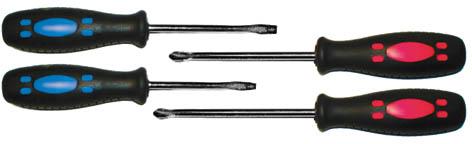 Набор стандартных отверток FIT, 4 шт набор отверток джонсвей